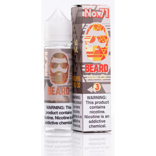 Beard Vape No.71 60ml E-Juice WHolesale | BEARD VAPE WHOLESALE