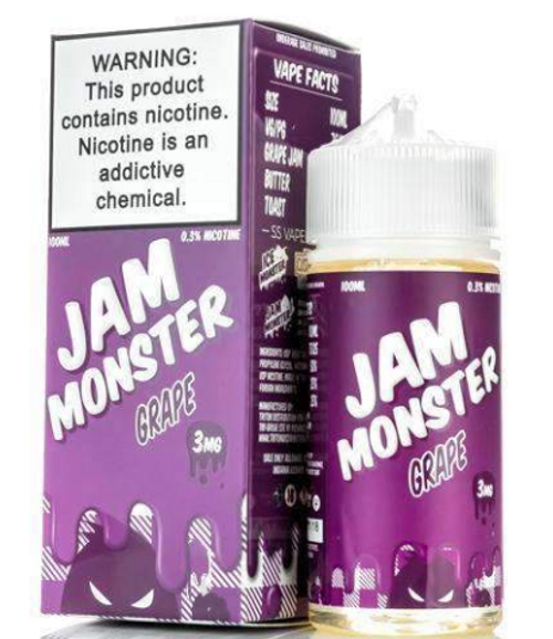Jam Monster Grape 100ml eJuice