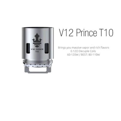 Smoktech TFV12 V12 Prince T10 Sub-Ohm Coils - 3 Pack