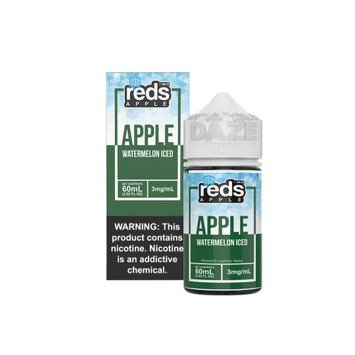 Red's Iced Watermelon eJuice Wholesale | Red's Apple Ejuice Wholesale