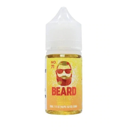 Beard Vape Salts No. 71 30ml eJuice by Beard Vape