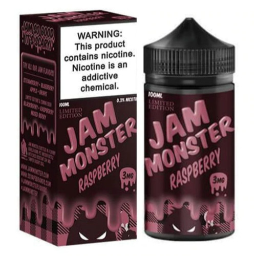 Jam Monster Raspberry 100ml eJuice