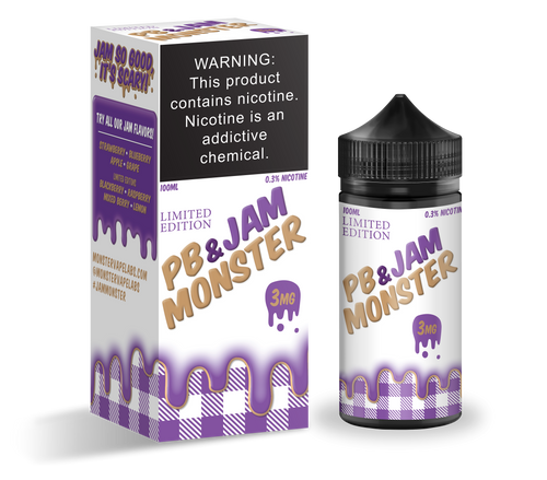 PB & Jam Monster Grape 100ml eJuice