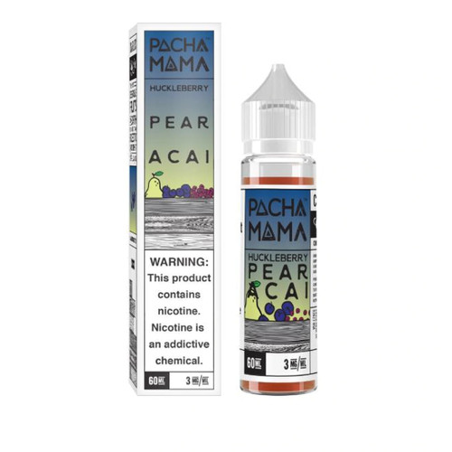 Pachamama Huckleberry Pear Acai 60ml eJuice
