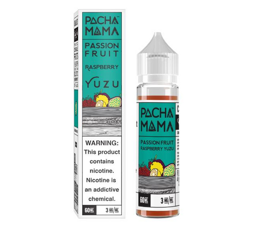 Pachamama Passion Fruit Rasberry Yuzu 60ml eJuice