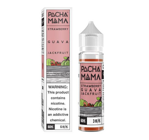 Pachamama Strawberry Guava Jackfruit 60ml eJuice