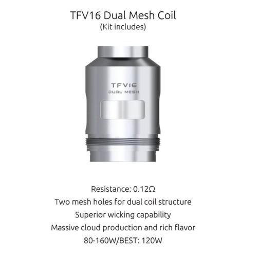 SMOK TFV16 Dual Mesh Coils - 3PK