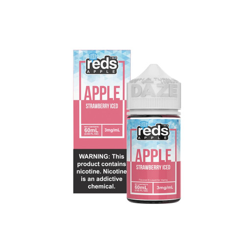 Red's Apple Strawberry Iced eJuice Wholesale | Red's Apple Wholesale