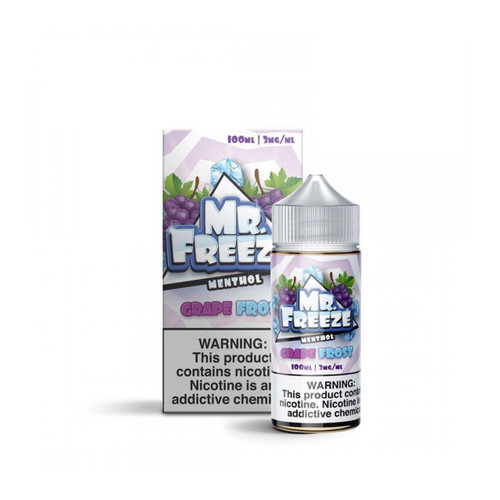 Mr.Freeze Grape Frost 100ml E-Juice Wholesale | Mr.Freeze Wholesale
