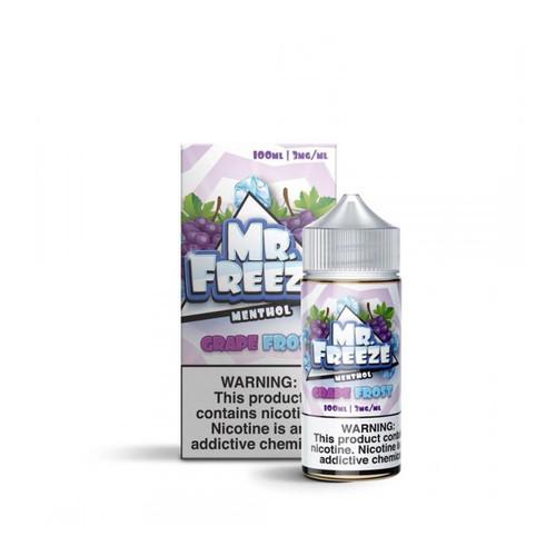 Mr.Freeze Grape Frost 100ml E-Juice Wholesale | Mr.Freeze Wholesale