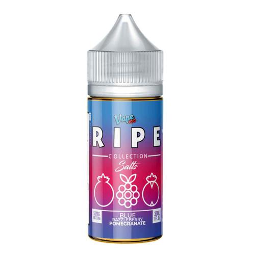 Ripe Salts Collection Blue Razzleberry Pomegranate 30ml E-Liquid | Ripe Wholesale