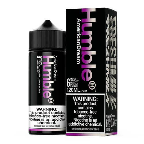 Humble American Dream 120ml Tobacco Free Nicotine E-Juice Wholesale | Humble Wholesale
