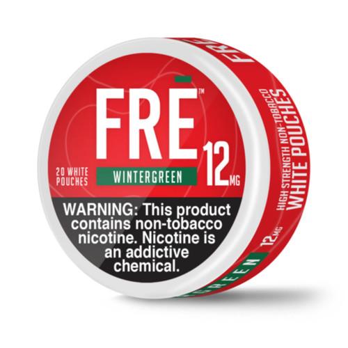 FRE NTN Moist Wintergreen Pouches Wholesale | FRE Wholesale