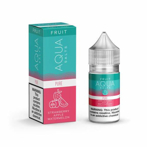 Aqua Salt Pure Synthetic Nicotine 30ml E-Juice Wholesale | Aqua Wholesale