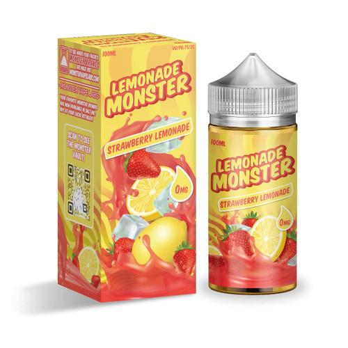 Lemonade Monster Strawberry Lemonade 100ml E-Juice Wholesale | Lemonade Monster Wholesale