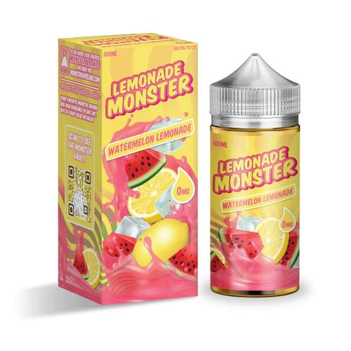 Lemonade Monster Watermelon Lemonade 100ml E-Juice Wholesale | Lemonade Monster Wholesale