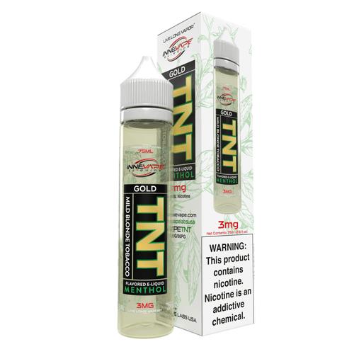 Innevape TNT Gold Menthol 75ml E-Juice Wholesale | Innevape Wholesale