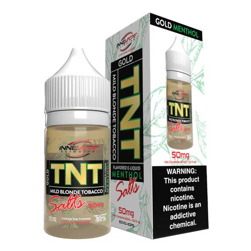 Innevape TNT Gold Menthol Salts 30ml E-Juice Wholesale | Innevape Wholesale