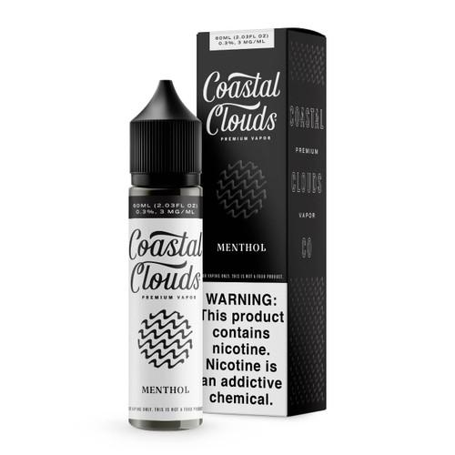Coastal Clouds Menthol 60ml E-Juice Wholesale   Coastal Clouds Wholesale