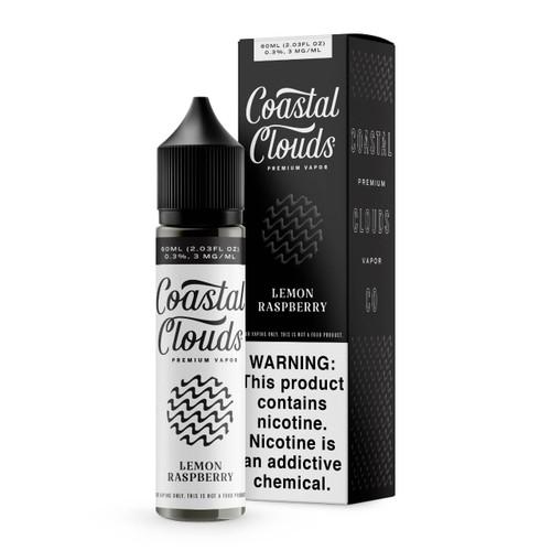 Coastal Clouds Lemon Raspberry 60ml E-Juice Wholesale   Coastal Clouds Wholesale