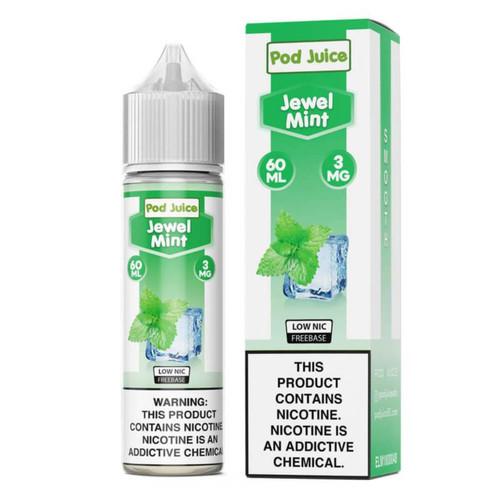 Pod Juice Jewel Mint 60ml E-Juice Wholesale | Pod Juice Wholesale