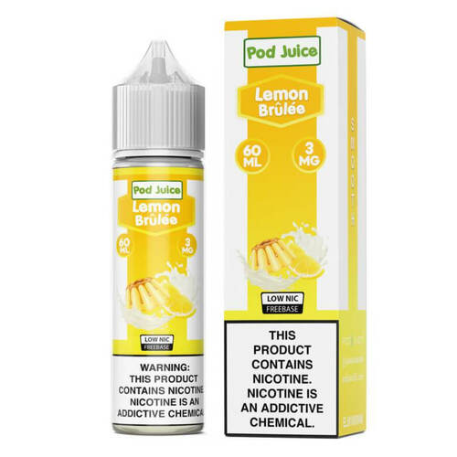 Pod Juice Lemon Brulee 60ml E-Juice Wholesale | Pod Juice Wholesale