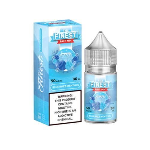 The Finest SaltNic Series Blue Razz Menthol 30ml E-Liquid Wholesale   The Finest Wholesale