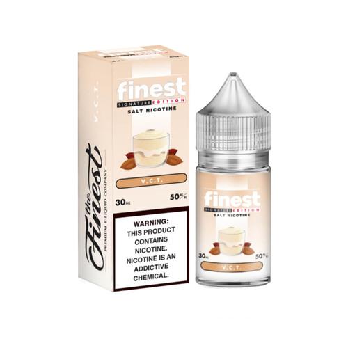 The Finest SaltNic Series Vanilla Custard Tobacco 30ml E-Liquid Wholesale   The Finest Wholesale