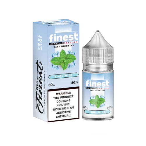 The Finest SaltNic Series Cool Mint 30ml E-Liquid Wholesale   The Finest Wholesale