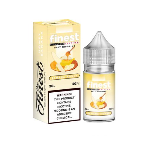 The Finest SaltNic Series Banana Honey 30ml E-Liquid Wholesale   The Finest Wholesale