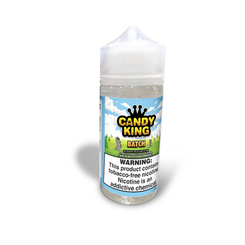 Candy King Batch Synthetic Nicotine 100ml E-Juice Wholesale   Candy King Wholesale