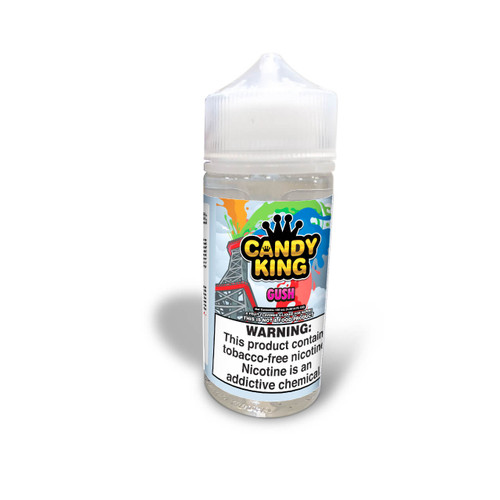 Candy King Gush Synthetic Nicotine 100ml E-Juice  Wholesale   Candy King Wholesale