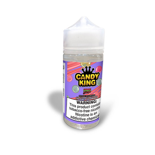 Candy King Strawberry Watermelon Bubblegum Synthetic Nicotine 100ml E-Juice Wholesale   Candy King Wholesale