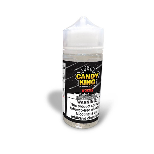 Candy King Worms Synthetic Nicotine 100ml E-Juice Wholesale   Candy King Wholesale