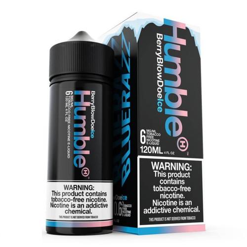 Humble Berry Blow Doe Ice 120ml Tobacco Free Nicotine E-Juice Wholesale | Humble Wholesale
