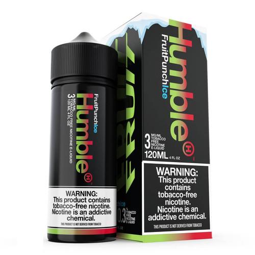 Humble Fruit Punch Ice 120ml Tobacco Free Nicotine E-Juice Wholesale | Humble Wholesale