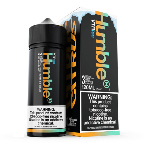 Humble Vape The Rainbow Ice 120ml Tobacco Free Nicotine E-Juice Wholesale | Humble Wholesale