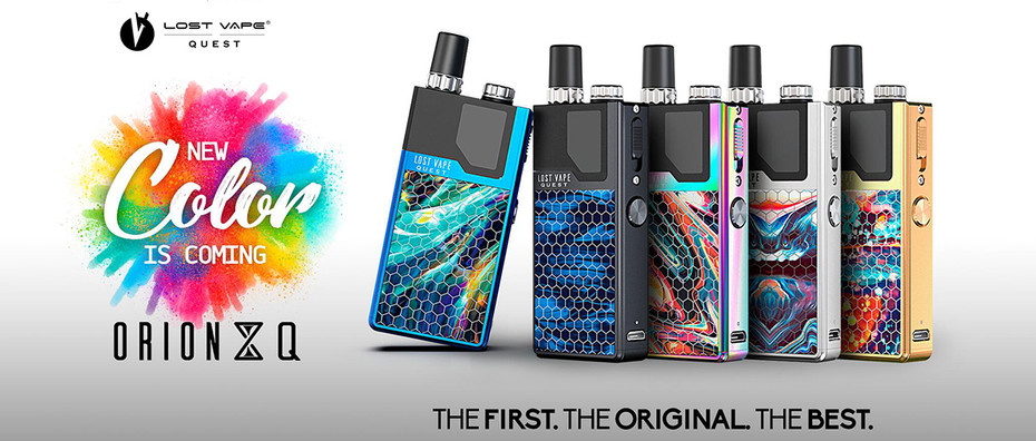 Hottest Pod Kit on The Market The Orion Q New Colors  Coming Soon!