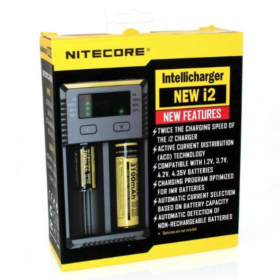 NiteCore I2 IntelliCharger **NEW VERSION**