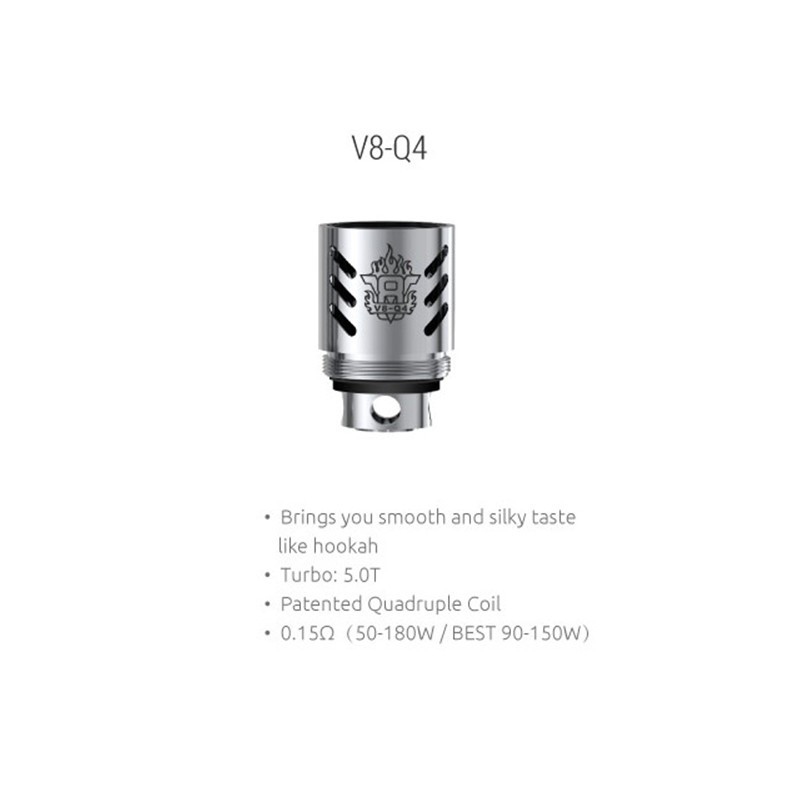 SMOK V8-Q4 Replacement Coils - 3PK | SMOK Replacement Coil