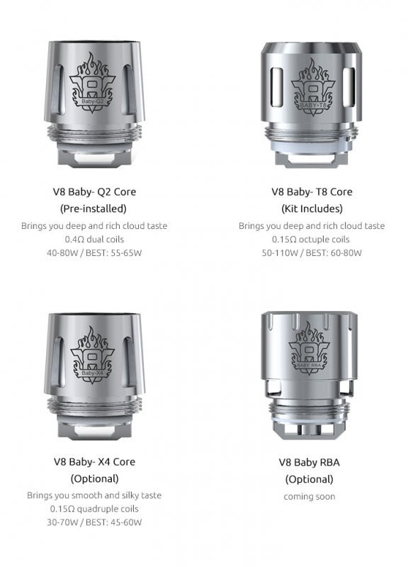 Wholesale 100% Authentic Smoktech TFV8 V8 Baby T8 Sub-Ohm Replacement Coils 5 Pack (0.15 OHMS) Wholesale Vapor Wholesale | KangerWholesaleUSA.com America's Premier E Cig and Vape Distributor | Lowest Priced E Cig Wholesaler in USA | Cheapest Vape Wholesale in USA | E Juice Wholesale | E Liquid Wholesale | E Juice | E Liquid | Vape Wholesale | Vapor Wholesale | E Cig Wholesale | Cheap Vape Kits | Vape Deals | Wholesale | Distributor | Vape USA | SMOK E Cig Wholesale | Smoktech TFV8 V8 Baby T8 Sub-Ohm Coils Wholesale | SMOK E Cig Cheap | SMOK Wholesale Vapes USA | SMOK Vapor | SMOK US | SMOK USA Wholesale | SMOKTECH | SZ SMOK Technology | SMOKTECH TECHNOLOGY