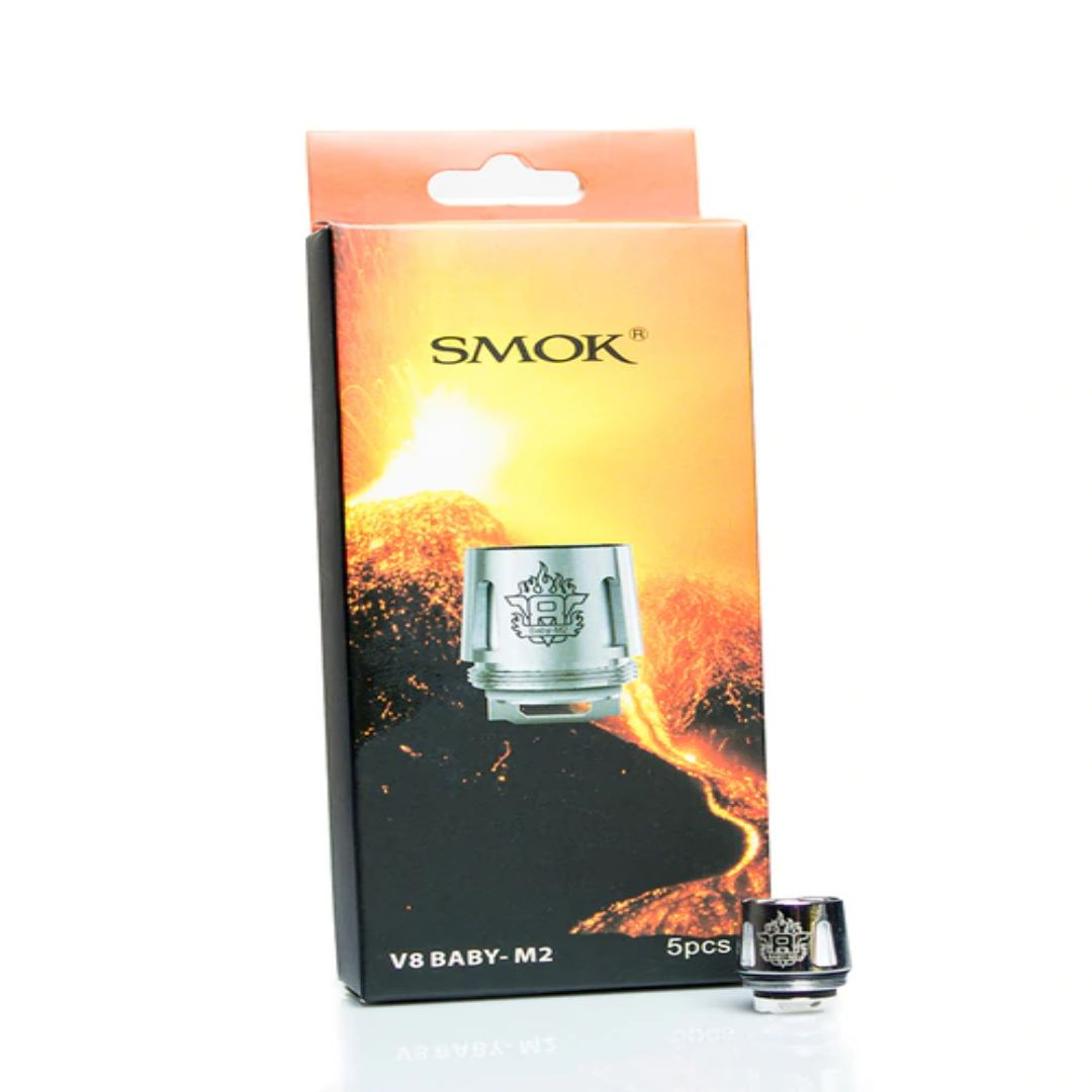 Wholesale 100% Authentic Smoktech TFV8 V8 Baby M2 Sub-Ohm Replacement Coils 5 Pack (0.15 OHMS) Wholesale Vapor Wholesale | KangerWholesaleUSA.com America's Premier E Cig and Vape Distributor | Lowest Priced E Cig Wholesaler in USA | Cheapest Vape Wholesale in USA | E Juice Wholesale | E Liquid Wholesale | E Juice | E Liquid | Vape Wholesale | Vapor Wholesale | E Cig Wholesale | Cheap Vape Kits | Vape Deals | Wholesale | Distributor | Vape USA | SMOK E Cig Wholesale | Smoktech TFV8 V8 Baby M2 Sub-Ohm Coils Wholesale | SMOK E Cig Cheap | SMOK Wholesale Vapes USA | SMOK Vapor | SMOK US | SMOK USA Wholesale | SMOKTECH | SZ SMOK Technology | SMOKTECH TECHNOLOGY