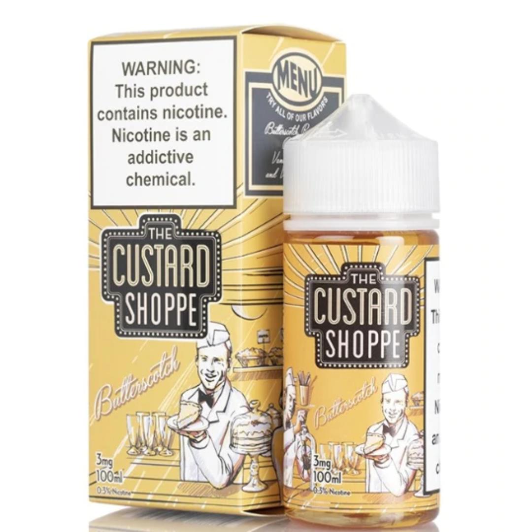 The Custard Shoppe Butterscotch 100ml E-Juice Wholesale | The Custard Shoppe E-Liquid Wholesale