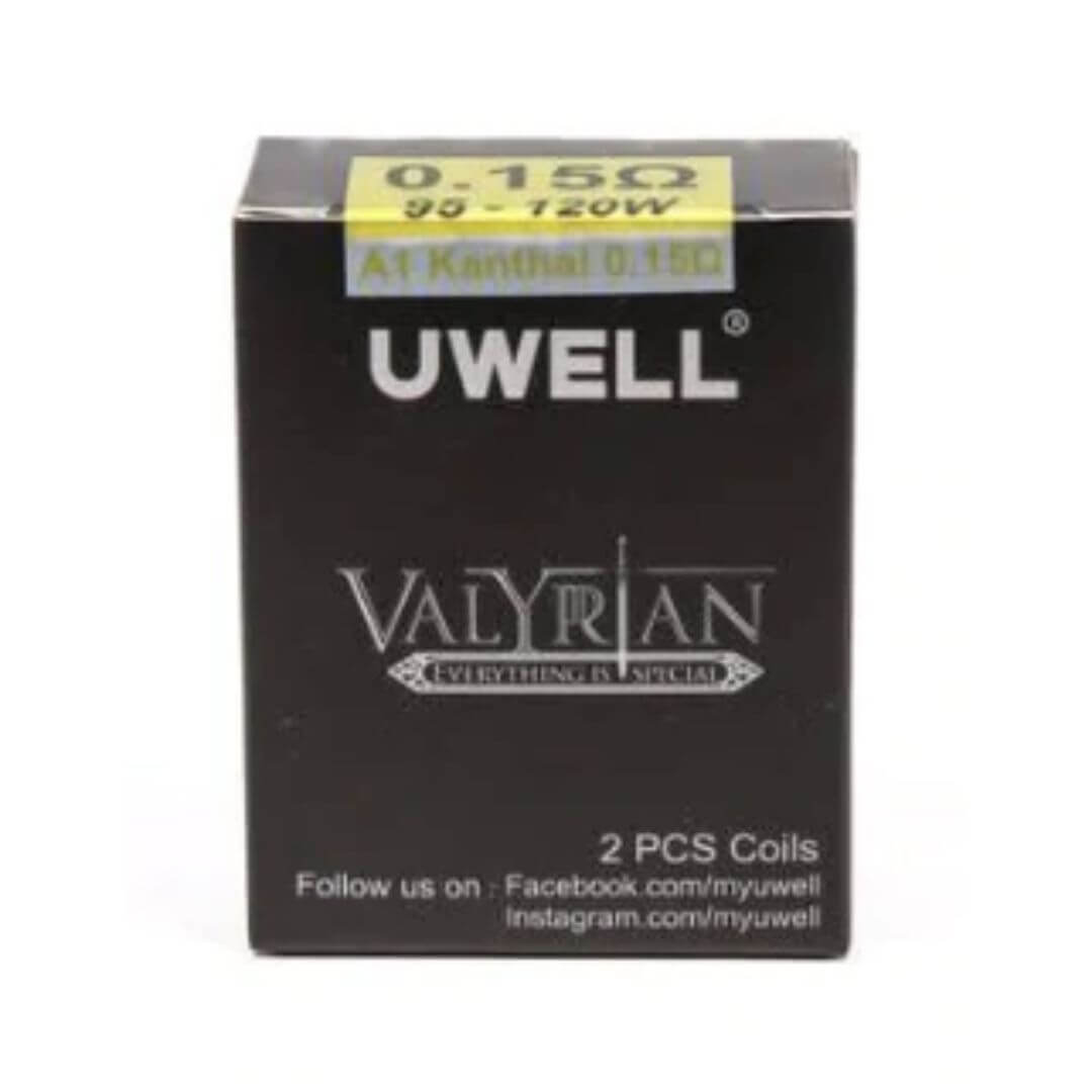 Wholesale 100% Authentic Uwell Valyrian Sub-Ohm Replacement Coils (0.15 OHMS) 2 Pack Wholesale Vapor Wholesale | KangerWholesaleUSA.com America's Premier E Cig and Vape Distributor | Lowest Priced E Cig Wholesaler in USA | Cheapest Vape Wholesale in USA | E Juice Wholesale | E Liquid Wholesale | E Juice | E Liquid | Vape Wholesale | Vapor Wholesale | E Cig Wholesale | Cheap Vape Kits | Vape Deals | Wholesale | Distributor | Vape USA | Uwell E Cig Wholesale | Uwell Valyrian Coils Wholesale | Uwell E Cig Cheap | Uwell E Cigs Wholesale Vapes USA | Uwell Vapor | Uwell USA | Uwell USA Wholesale | Uwell VAPE | ShenZhen Uwell Technology | Uwell TECHNOLOGY | Uwell Valyrian Tank | Uwell Coils | Uwell Valyrian | Uwell Nunchaku | MyUwell