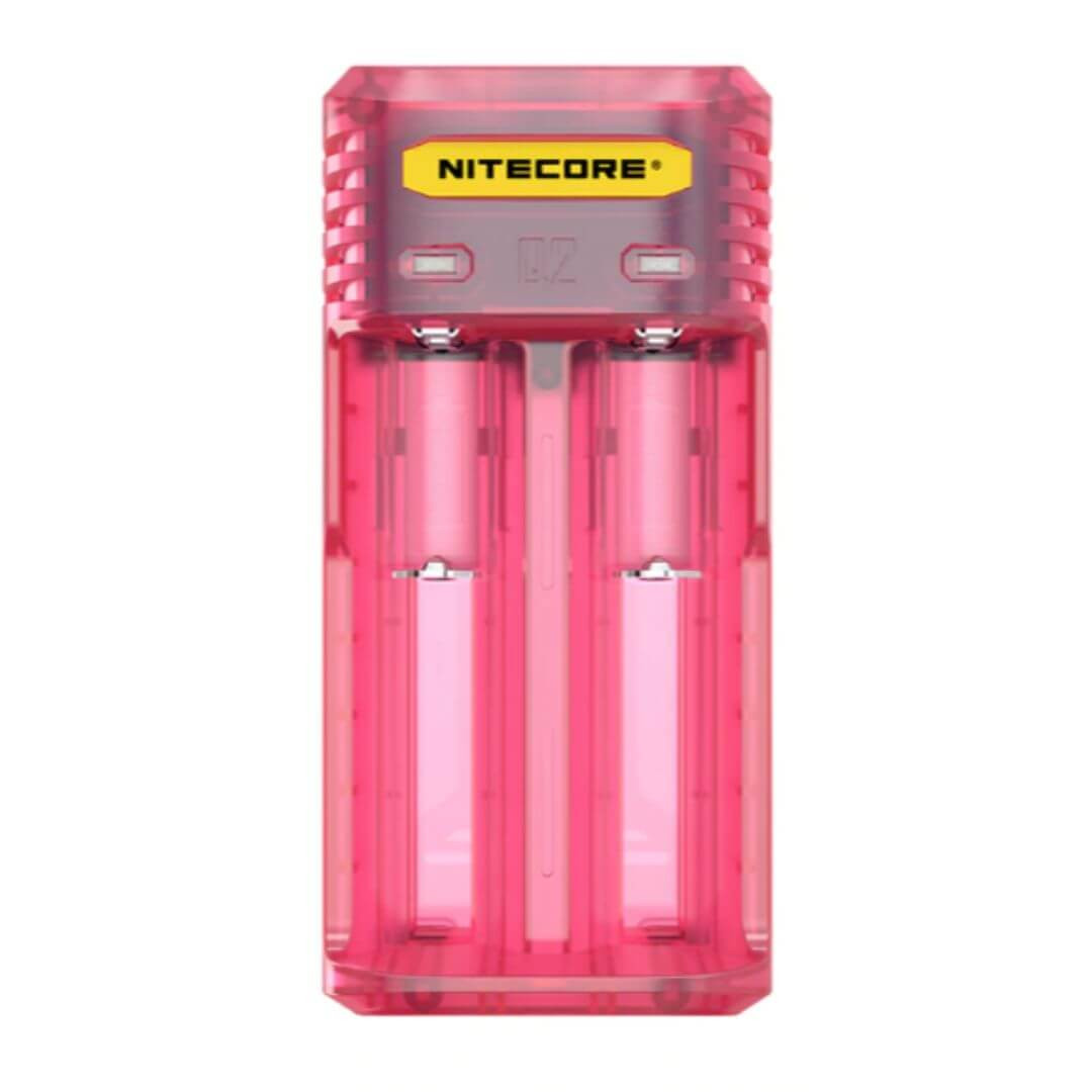 Nitecore Q2 Quick Charger Pink