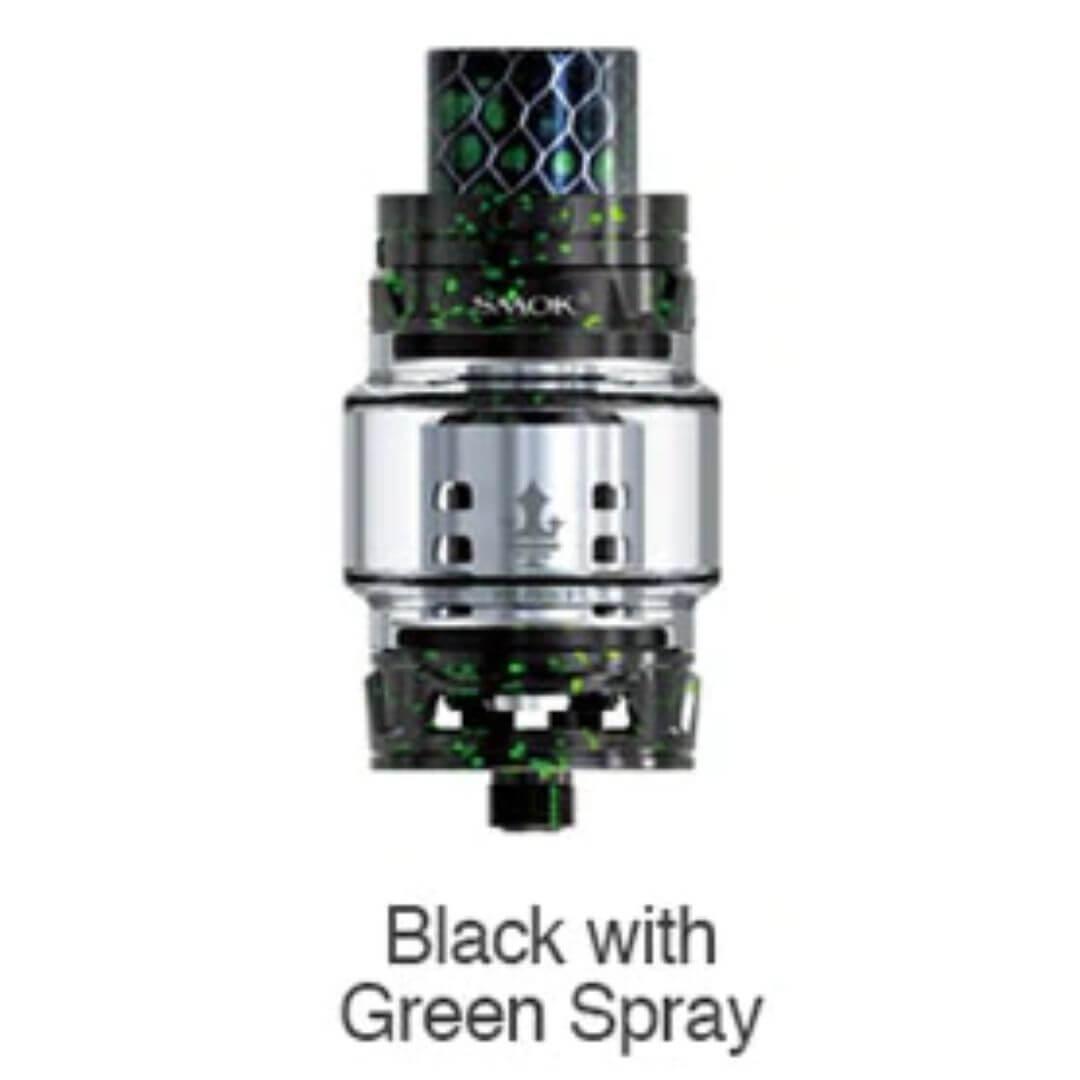 Smoktech TFV12 Prince Tank Black with Green Spray