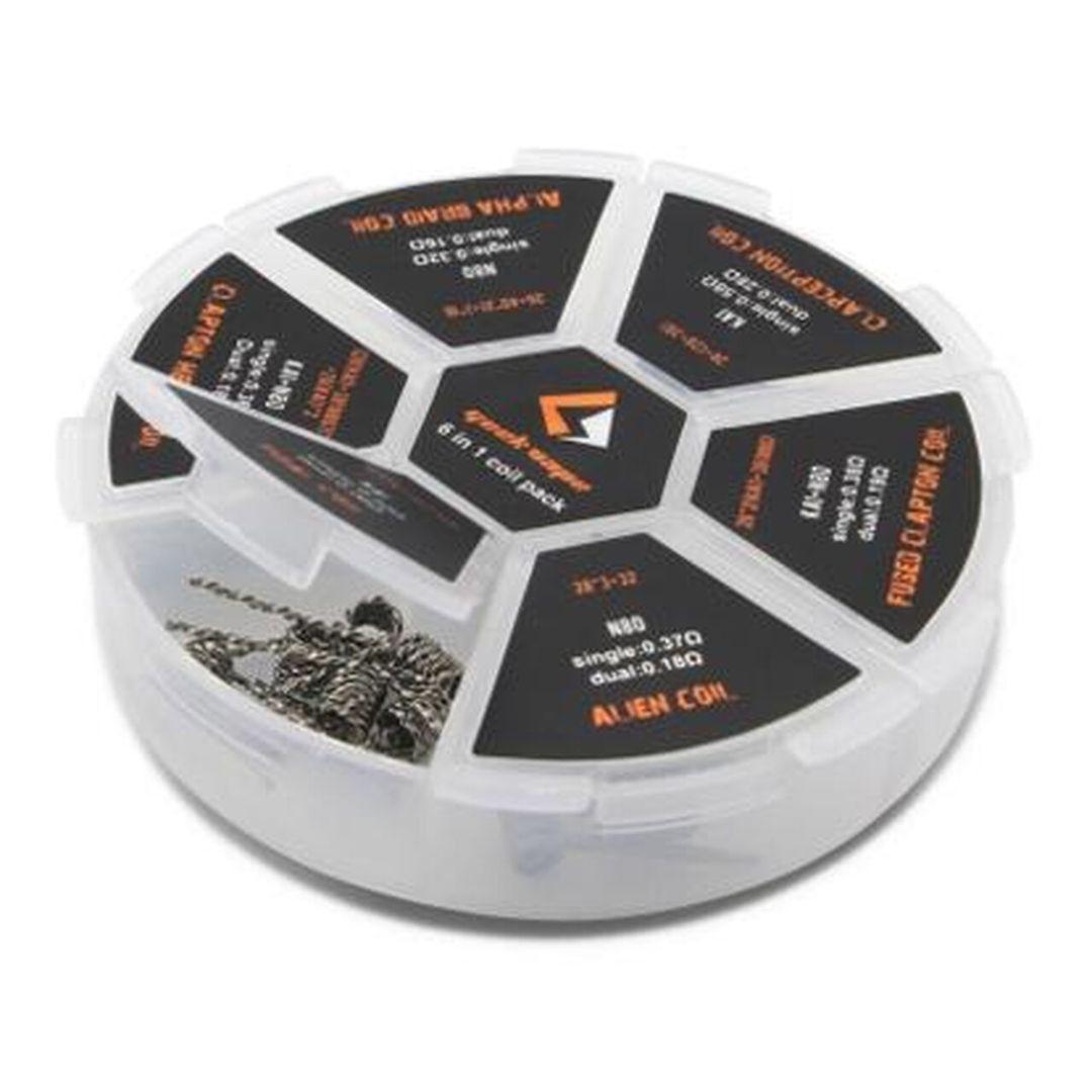 GeekVape 6 in 1 Coil Pack Wholesale | GeekVape Coil Wholesale