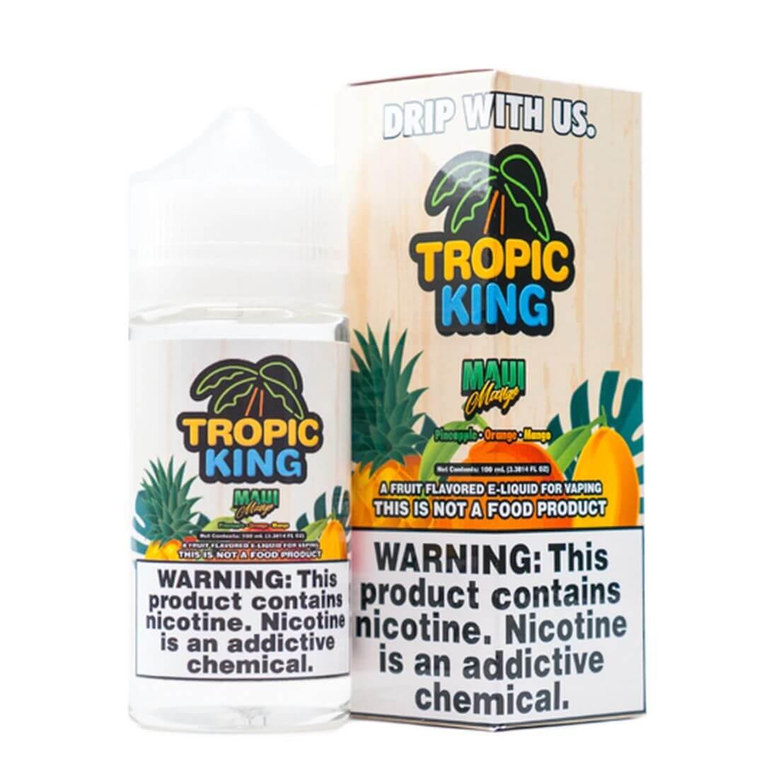 Tropic King Maui Mango 100ml E-Juice | Tropic King E-Liquid Wholesale
