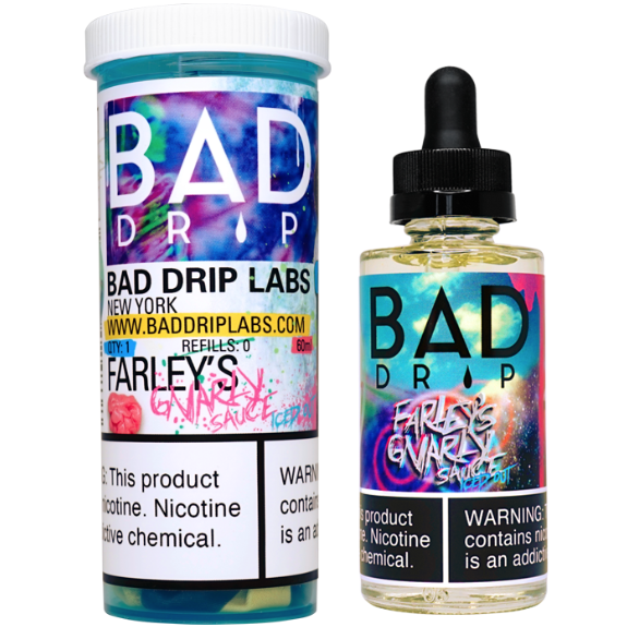 Bad Drip Farley's Gnarly Sauce Iced Out 60ml E-Juice