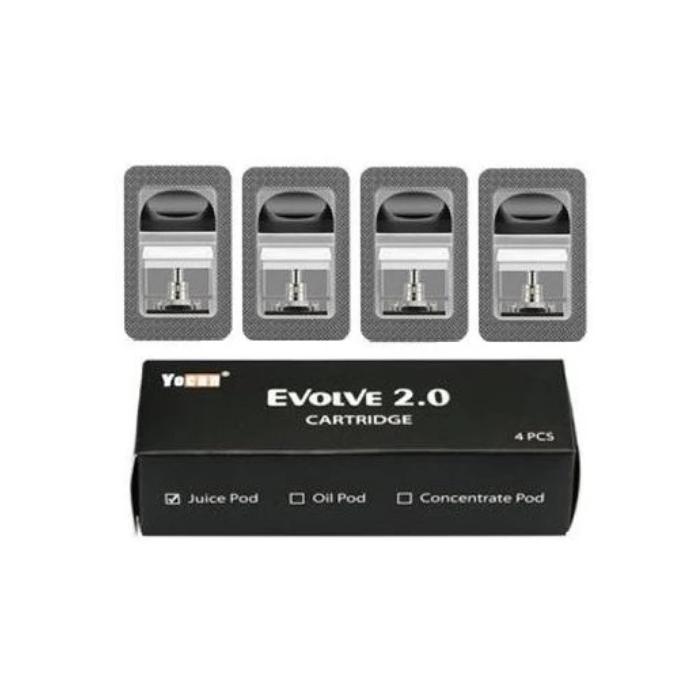 Yocan Evolve 2.0 Replacement Pod - 4PK Wholesale   Yocan Vaporizer Wholesale